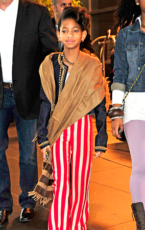 Willow Smith's Sassy Outfit (PHOTOS)