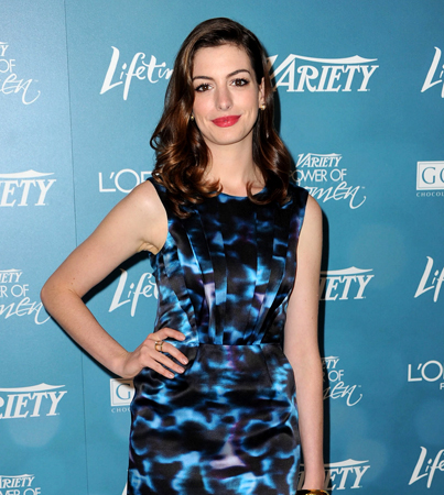 Anne Hathaway Cried On-Set…Everyday
