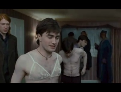 Daniel Radcliffe Does Drag in 'Deathly Hallows' TV Spot (VIDEO)