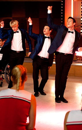 'Glee' Never Been Kissed Episode: First Look (PHOTOS)