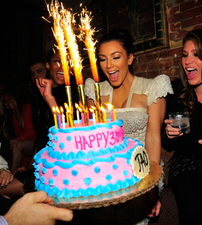 Kim Kardashian: Kourtney Did NOT Bail on My Birthday!