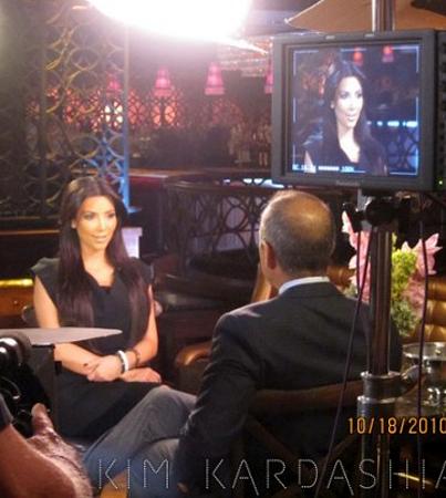 Kim Kardashian Films Thanksgiving Special with Matt Lauer