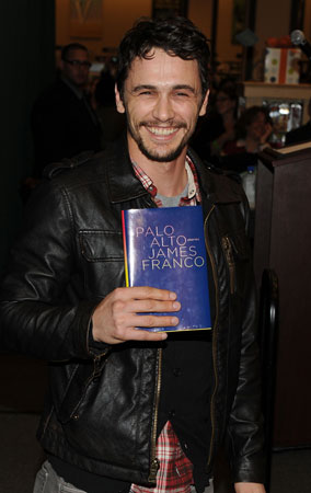 James Franco Debuts His First Book (PHOTOS)