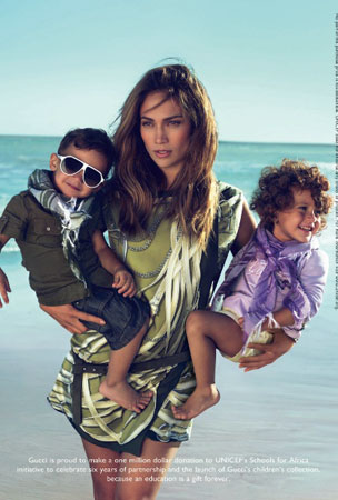 Jennifer Lopez's Twins Make Modeling Debut