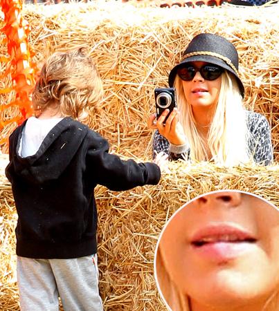 Christina Aguilera's Pre-Split Hospital Trip
