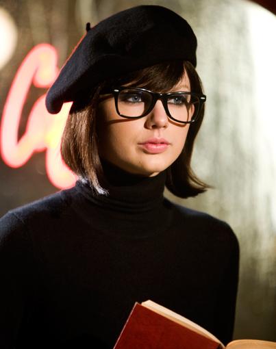 Taylor Swift Goes Beatnik—and Brunette!