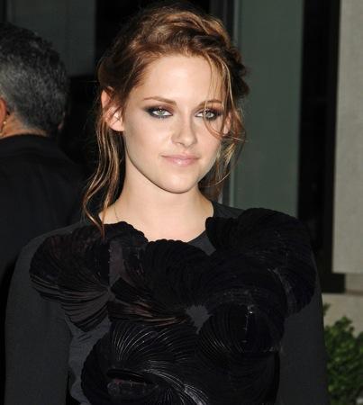 Kristen Stewart Trying Out 'Dawn' Wedding Dresses