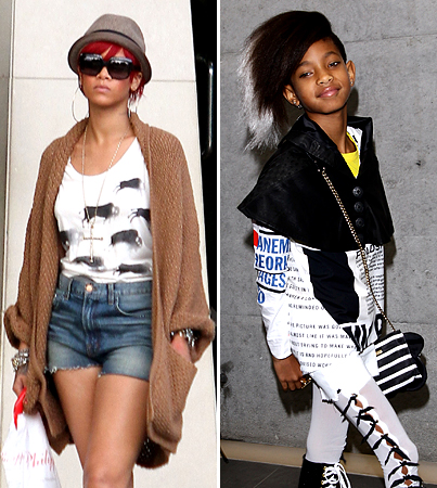 Willow Smith Tops Rihanna in Online Video Views