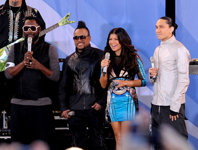 Black Eyed Peas Have the 'Time of Their Lives'