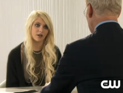 Taylor Momsen and Tim Gunn Face Off on 'Gossip Girl' (VIDEO)