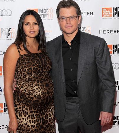 Matt Damon Welcomes New Daughter