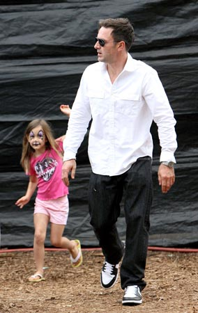 David Arquette Takes Coco to the Pumpkin Patch (PHOTOS)
