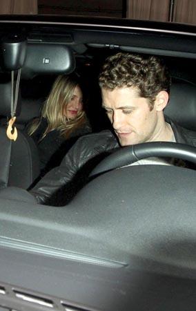 Caption This: Matthew Morrison Gives Cameron Diaz a Ride (PHOTOS)