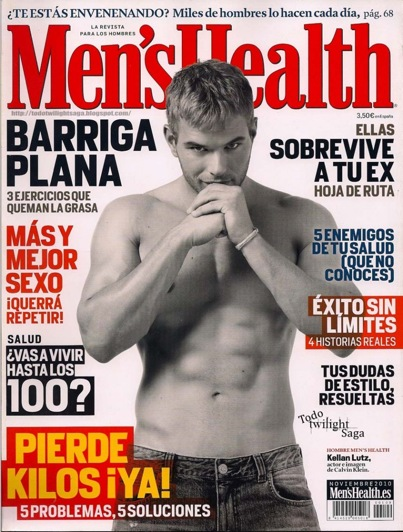 Kellan Lutz: Muy Caliente in Spanish 'Men's Health'