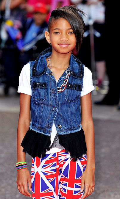 Willow Smith is Surrounded by Positivity