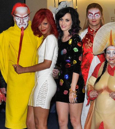 Did Rihanna Miss Katy Perry's Wedding?