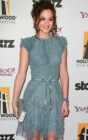 Leighton Meester & Carey Mulligan Hit Hollywood Awards (PHOTOS)