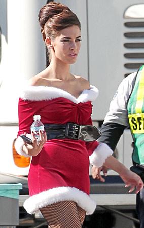 Jessica Lowndes Goes Sexy Santa on '90210' (PHOTOS)