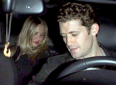 Matthew Morrison and Cameron Diaz Are 'Just Friends'