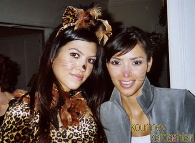 Kim and Kourtney Kardashian Share Their Halloween Memories