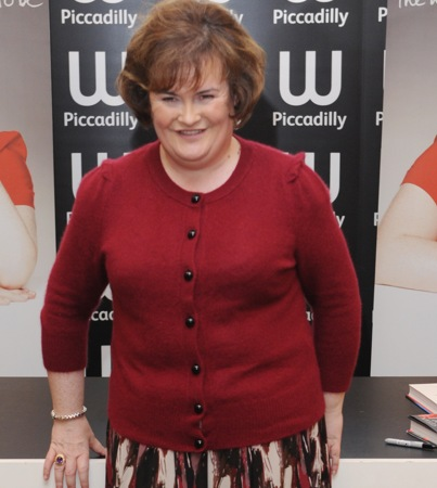 Susan Boyle Will Have a 'Glee'-ful Christmas
