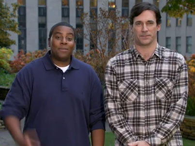 Jon Hamm 'SNL' Promos (VIDEO)