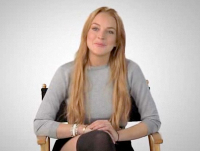 Lindsay Lohan Jokes About Money Problems in Funny or Die PSA