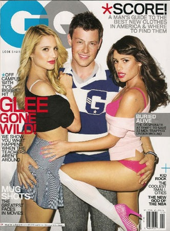 'GQ' Promises More Steamy 'Glee' Fun