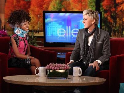 Willow Smith Braces Herself For Ellen DeGeneres