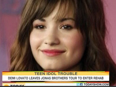 'Today' Tackles Demi Lovato Rehab News  (VIDEO)-photo