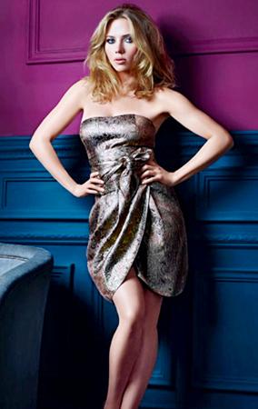 Scarlett Johansson Models for Mango (PHOTOS)