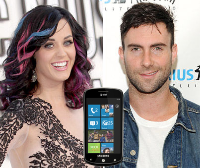 Windows Phone to Launch with Katy Perry, Maroon 5