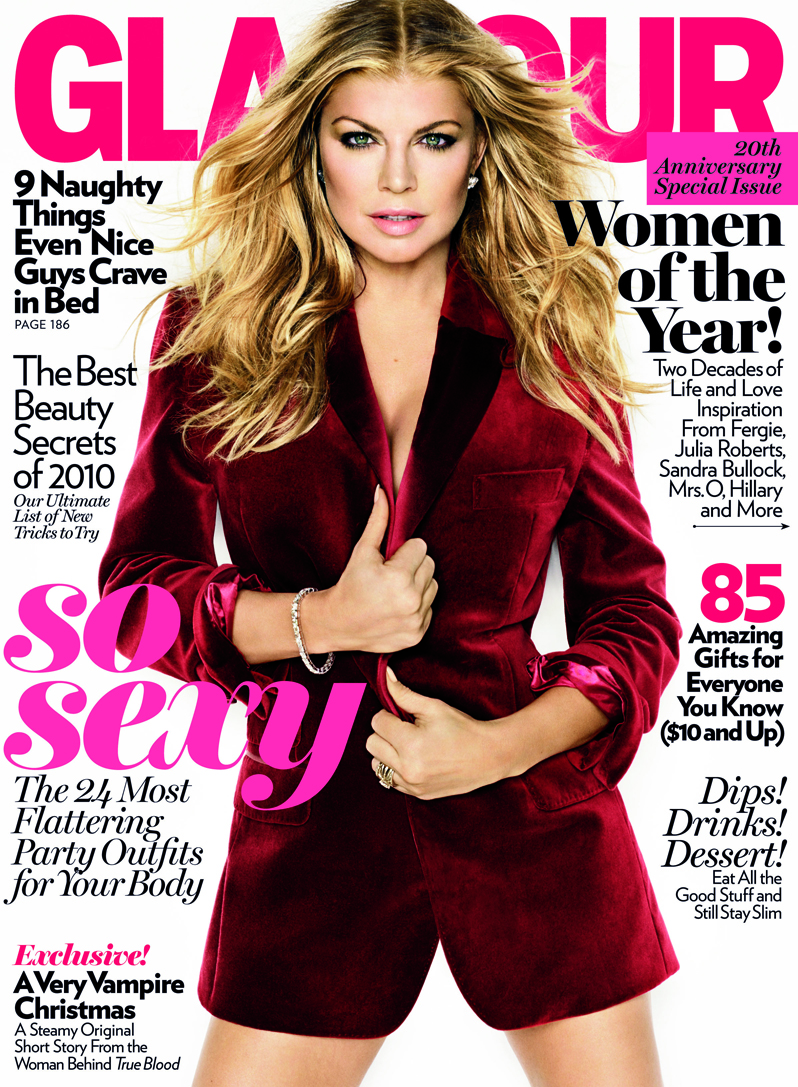 Fergie on the Cover of Glamour-photo