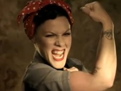 P!nk Releases New Video, Condones Spanking