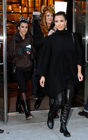 The Kardashians Go Wild in New York (PHOTOS)
