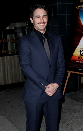 James Franco at the '127 Hours' Premiere (PHOTOS)