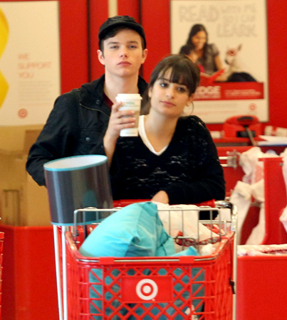 'Glee' Stars Hit Up Target