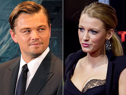 Leo DiCaprio and Blake Lively's Dinner: 'Gatsby' Date?