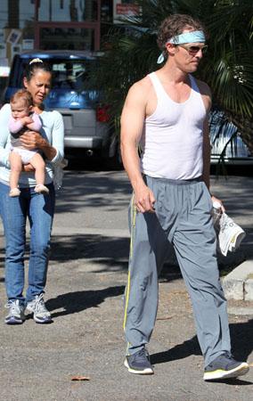 Matthew McConaughey's Birthday Jiu-Jitsu Party (PHOTOS)