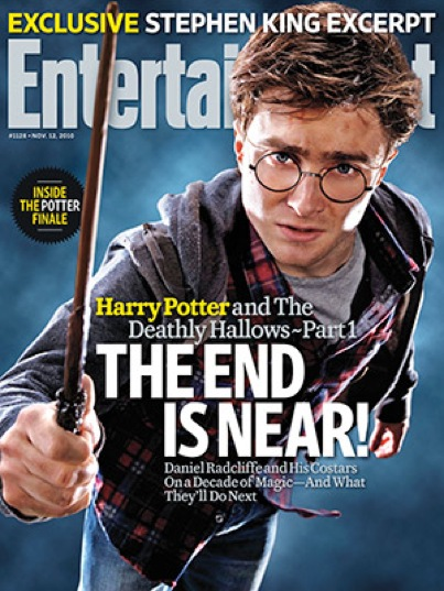 'Harry Potter and the Deathly Hallows': New Clip Plus EW Cover (VIDEO)