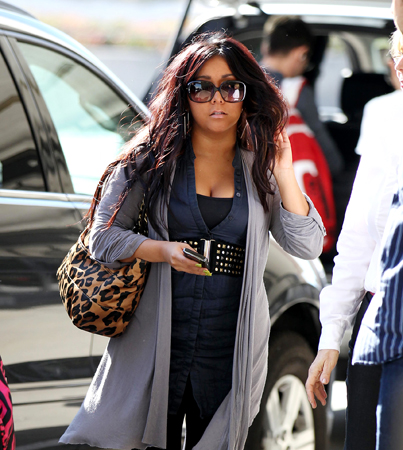Snooki Heads Home After 'Movie 43′ Cameo