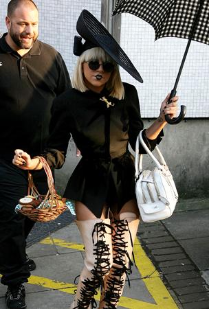 Lady Gaga's Wax Figure Looks (PHOTOS)