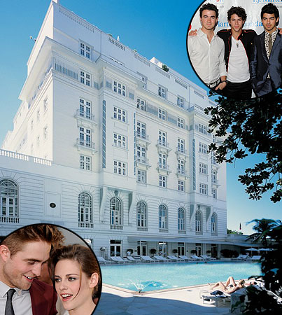 'Twilight' Stars & Jonas Bros Share Hotel in Rio?