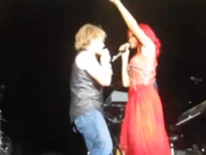 Rihanna and Bon Jovi Duet Right at Pre-EMAs Show (VIDEO)