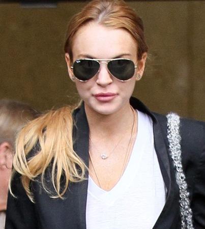 Lindsay Lohan Reunites With Father Michael