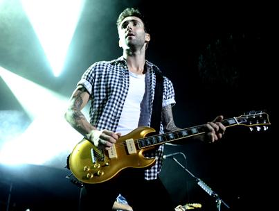 Maroon 5 Headlines Windows Phone Launch Concert