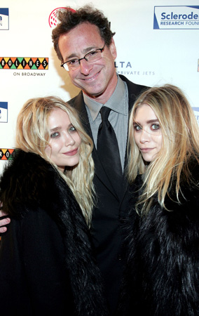 Bob Saget and the Olsen Twins Reunite at Charity Event (PHOTOS)