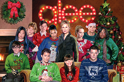 'Glee' Gets into the Holiday Spirit