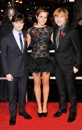 'Harry Potter and the Deathly Hallows' London Premiere (PHOTOS)