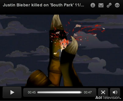 'South Park' Takes on Justin Bieber (VIDEO)